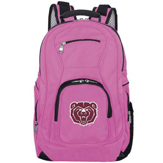 CLMBL704-PINK: NCAA Missouri State University Bears Backpack Laptop